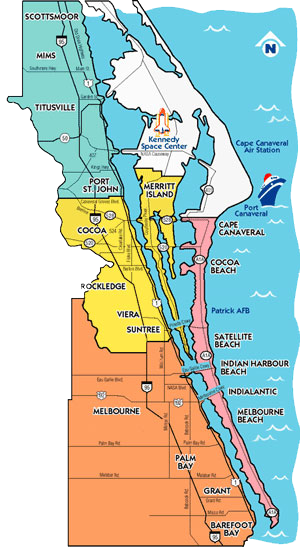 FEMA Digital Preliminary Flood Maps for Brevard County ...  |Brevard County Area Map
